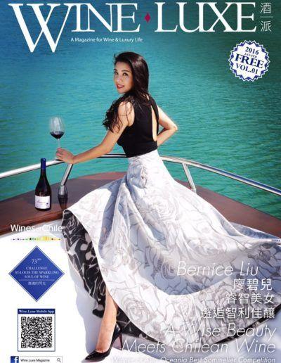 Bernice Liu Wine Luxe Cover